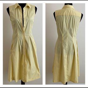 Talbots Sleeveless Gingham Style Dress